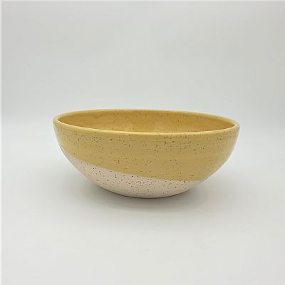 YELLOW SPOT BOWL